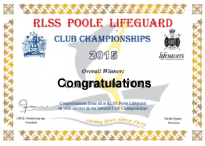 Results for the 2015 PLG Club Champs