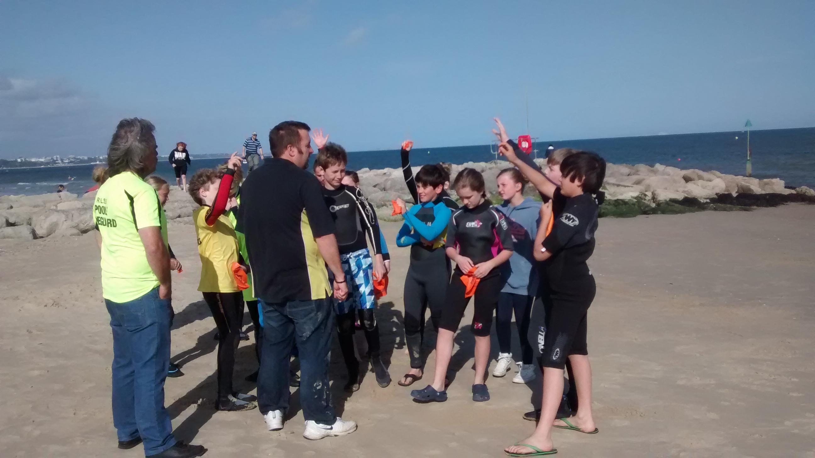1st Beach Training Session 2015