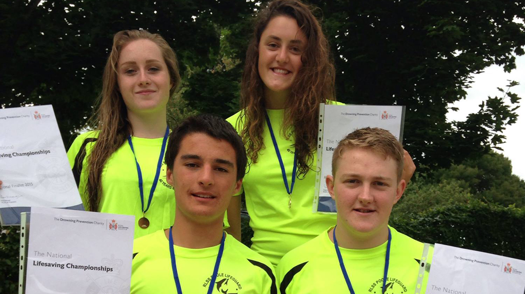 RLSS Poole Triumph at Life Saving Champs