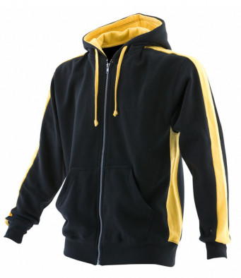 Club Hoodie Black/Yellow